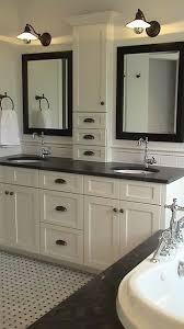 bathroom countertop storage tower surprise vanity interior design 8