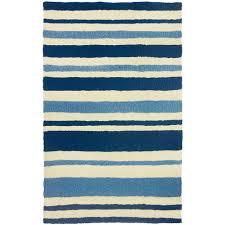 jellybean nautical stripe indoor outdoor rug