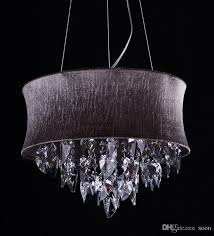 smoke grey crystal drum chandeliers light pendant lamp ceiling with regard to modern residence grey crystal chandelier prepare