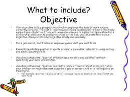 What Should Your Objective Be On Your Resume What Why Résumé Writing What Why ppt video online download 59