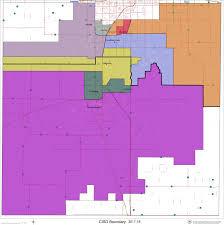 District Lines Size Chart Attendance Zones Boundaries