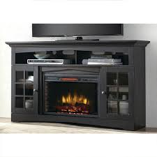 full image for tv stand with built in electric fireplace uk target aged black home decorators