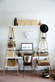 inexpensive office desk. Diy Home Office Desk Find Some Wood Ladders Go Buy And Paint The . Inexpensive