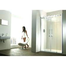 aqua glass shower stall stalls one piece 2 door recess sliding installation instructions aqua glass shower stall