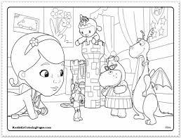Nice Design Doc Mcstuffins Coloring Pages Download Mcstuffin Disney