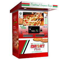 Vending Machine Pizza Interesting SHIOK Pizza Vending Machine SHIOK Pizza Pizza Vending Machine