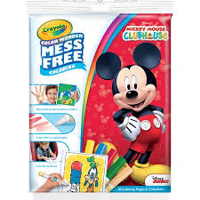 Crayola Color Wonder Mickey Mouse Club House Coloring Pad And