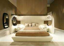 interesting bedroom furniture. Contemporary Bedroom Furniture Unique Cream Modern Design Mirror Wall Brown Interesting R