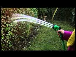 garden 50 feet flat hose with reel