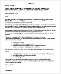 Letters Of Complaints Samples Formal Complaint Letter Sample Against A Person Cycling Studio