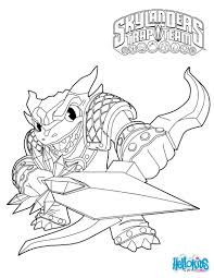 Skylanders Trap Team Coloring Pages Snap Shot Coloring Pages