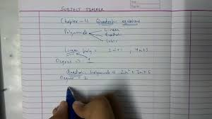 chapter 4 exercise 4 1 quadratic equations maths class 10 ncert in english or hindi