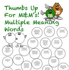 Multiple Meaning Speech and Language | Speech therapy ideas ...