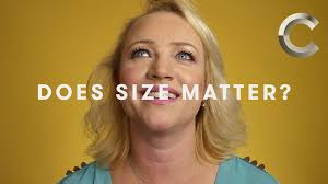Does size matter Women One Word YouTube
