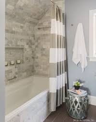 Bathroom Gorgeous Bathroom Remodel With Tile Shower White Trim