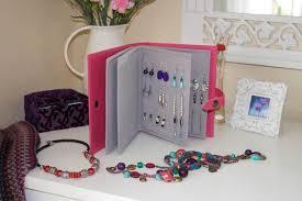 Costruire Portagioie Di Legno : Porta orecchini fai da te bricolage bijoux