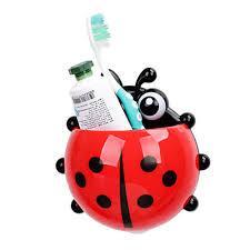 Ladybug Bathroom Accessories Popular Ladybug Toothbrush Holder Buy Cheap Ladybug Toothbrush