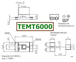 arduino data sheet temt6000 datasheet ambient light sensor arduino datasheetcafe com