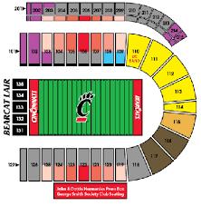 Nippert Stadium Fc Cincinnati Seating Chart Cincinnati Bearcats Tickets 55 Hotels Near Nippert