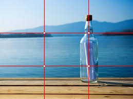 rule of thirds photography. This Is An Example Of Rule Thirds Because The Bottle Main Focus And Photography