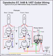 danoguitarschematics1 typical danelectro guitars schematics ~ and electronics info