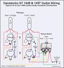 typical danelectro guitars schematics