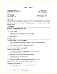 Resumes For College Students Unique Sample Resume College Students musiccityspiritsandcocktail