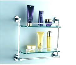 shelf with towel bar glass towel bar glass shelf towel bars oil rubbed bronze dual tier shelf with towel bar