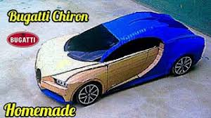 Vietnamese men make 'drivable' lamborghini and bugatti supercars out of cardboard. How To Make Bugatti Chiron With Cardboard Cardboard Car Crafty Engineer How To Make A Car Youtube