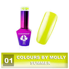 01 Gel Lak Colours By Molly 10ml Summer A