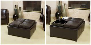 christopher knight home mason bonded leather espresso tray top storage customer review excellent and functional have been looking at these units for a