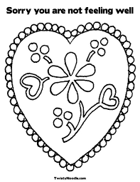 Small Picture Get Well Coloring PagesWellPrintable Coloring Pages Free Download