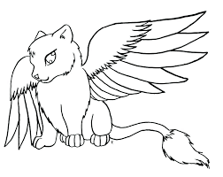 Anime Animal Coloring Pages Anime Animal Girl Coloring Pages