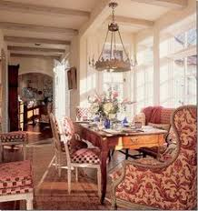 love this alcove dining areabut then i love everything this man designedhe was the best amelie distressed chandelier perfect lighting