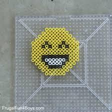 Emoji Perler Bead Patterns Beauteous Emoji Perler Bead Keychains Frugal Fun For Boys And Girls