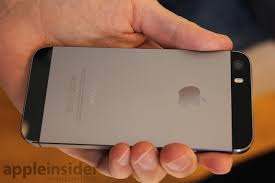 iphone 5s black and grey. the new iphone 5s is visually nearly identical to design of current 5, although black version (above) now called \ iphone and grey