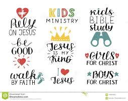 Set Of 9 Hand Lettering Christian Quotes Jesus Is My Kingrely Kids