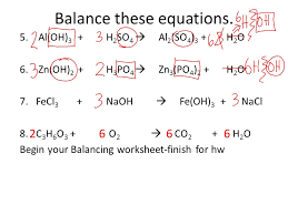 balance these equations 5 al oh 3 h 2 so 4