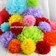 Tissue Paper Flower Ideas Factory Sale Weddings Birthday Parties Baby Showers Paper Flower Decorations Hanging Tissue Paper Pom Poms Balls Buy Tissue Paper Pom Poms Hanging