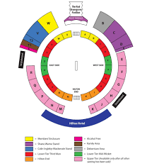 51 Faithful Rose Bowl Detailed Seating Chart