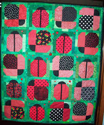 Quilt Blocks Lady Bugs | Quilts Finished 2010 | lady bugs ... & Quilt Blocks Lady Bugs | Quilts Finished 2010 Adamdwight.com