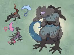 I Made A Male Evolution For Salandit Pokemon
