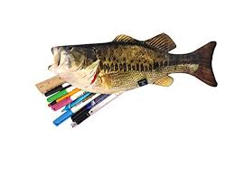 weird office supplies. Simple Supplies Bass Zipper Pouch Weird Fish Pen Pencil Case  For School Kids  Student Bass Office Supplies Instruments Writing Drawing  Throughout L