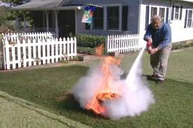 how to use a fire extinguisher properly