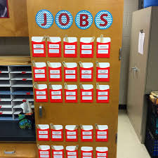 The Teacher Dish Teaching Responsibility Classroom Jobs
