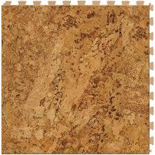 perfection floor tile classic wood 6 piece 20 in x 20 in cork locking luxury vinyl tile