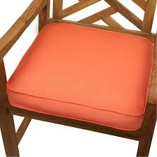 pillow chair. mozaic company sunbrella corded indoor/outdoor chair cushion | hayneedle pillow
