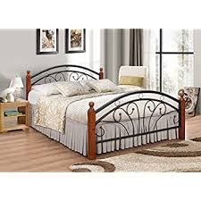 iron bed furniture. Metal Bed Frame With Oak Legs Double 7 Star Furniture Dirty Wood Futon Iron R