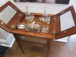 2) Folding Liquor Cabinet.
