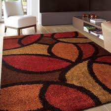 brown and orange area rug  best decor things